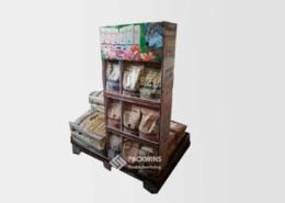 Cardboard-Display-Board-Pallet-Pet-Food-Picture-Display