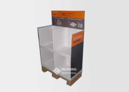 Corrugated Cardboard Manufacturers Half Pallet Display