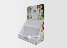 Dog Perfume Pdq Packaging Counter Top Display Stand