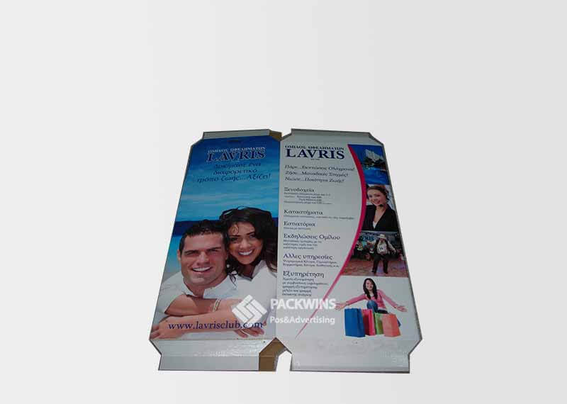 Dump Bins For Retail Shopping Bags Pop Cardboard Display