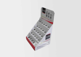 Corrugated Srp Packaging Desk Display Stand