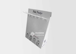 Headband POS Cardboard Counter Display Boxes
