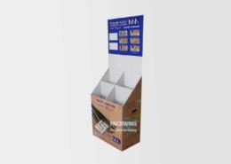 Magazine-Corrugated-Paper-Packaging-Dump-Bins-Display-Stand
