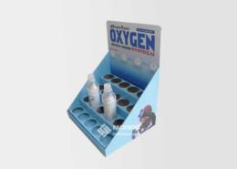 Oxygen Bottles Walmart Small Shelf Pdq Retail Display